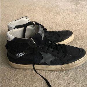 Golden goose black high sneakers